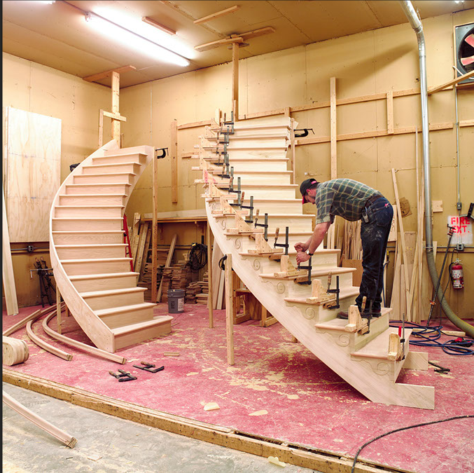 Great Whether We Design Your Stairs Or Not, We Gladly Offer Our Installation  Services.